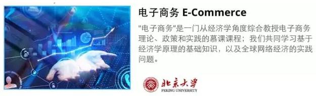 北京大学网课推荐:电子商务